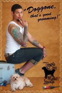 Tony's front postcard